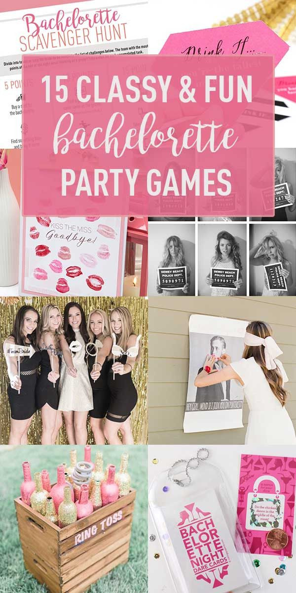 Fun Bachelorette Party Ideas  Best 25 Bachelorette Party Games ideas on Pinterest