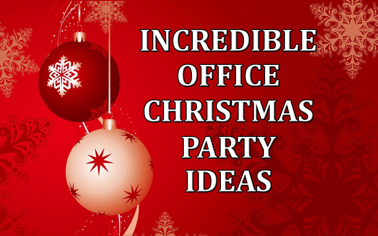 Fun Office Christmas Party Ideas  Incredible fice Christmas Party Ideas edy Ventriloquist