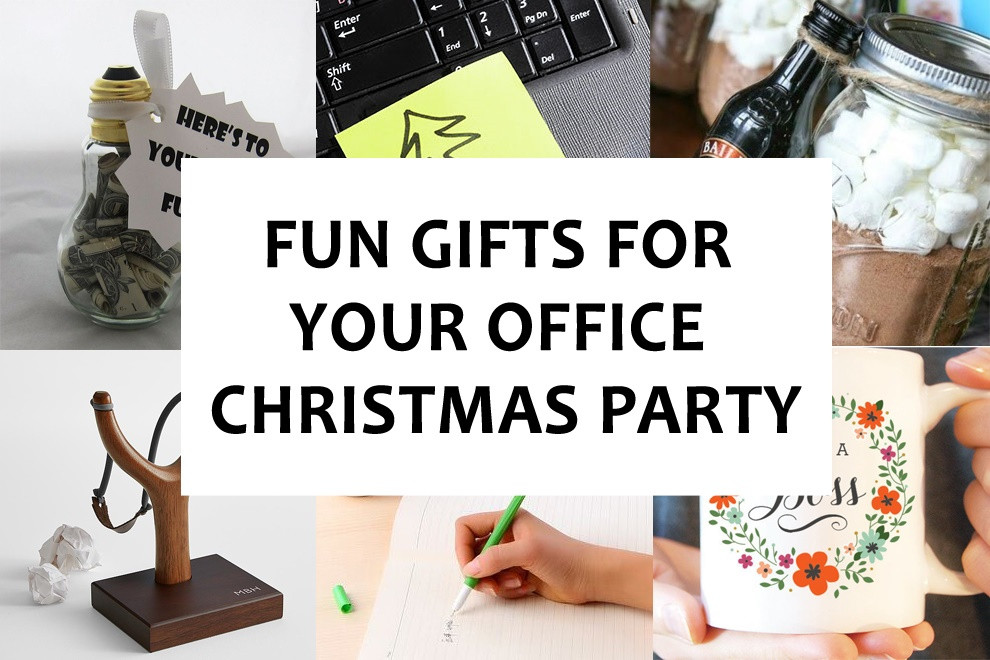 Fun Office Christmas Party Ideas  Fun Gifts for Your fice Christmas Party Bonjourlife
