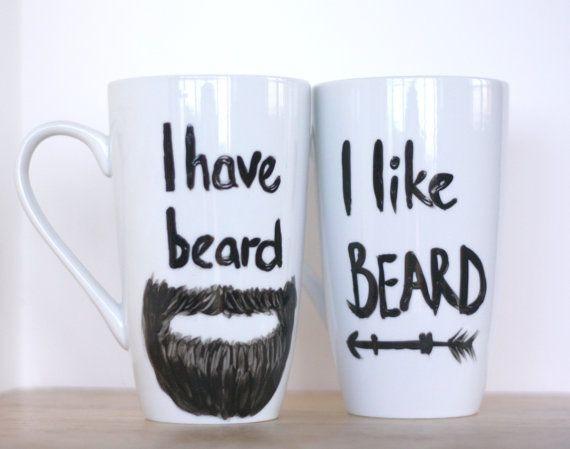 Funny Couples Gift Ideas  Funny Mug Set Wife Mug Husband Mug Unique Valentines Day