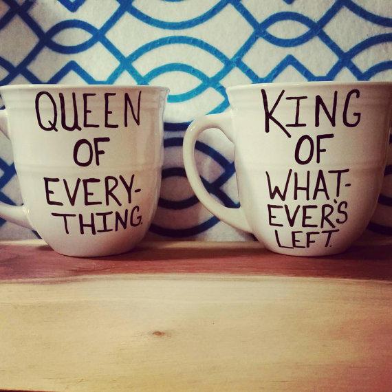 Funny Couples Gift Ideas  Mug set Mug Cup Anniversary Wedding from LOVEinamug on Etsy