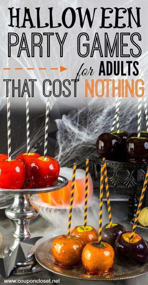 Funny Halloween Party Ideas  Best 25 Halloween games adults ideas on Pinterest
