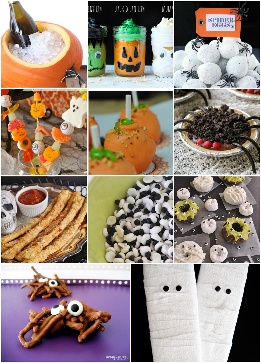 Funny Halloween Party Ideas  Halloween Party Food