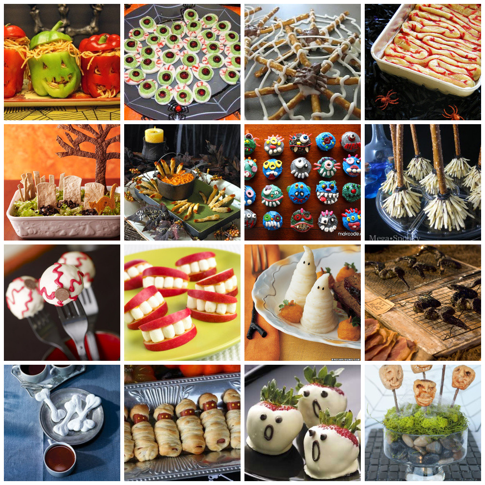 Funny Halloween Party Ideas  6 Easy Quick Kids Party Food Ideas