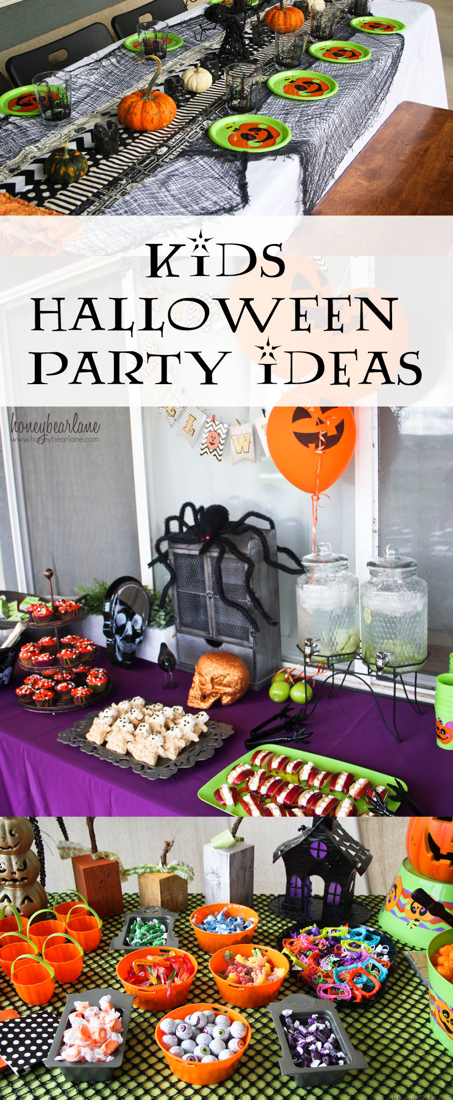 Funny Halloween Party Ideas  Kids Halloween Party Ideas Honeybear Lane