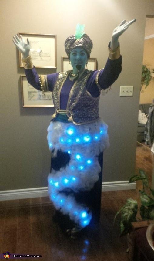 Genie Costume DIY  Creative DIY Genie Costume 3 3