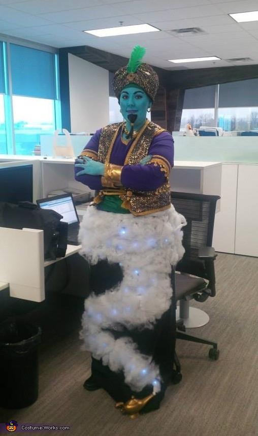 Genie Costume DIY  Creative DIY Genie Costume