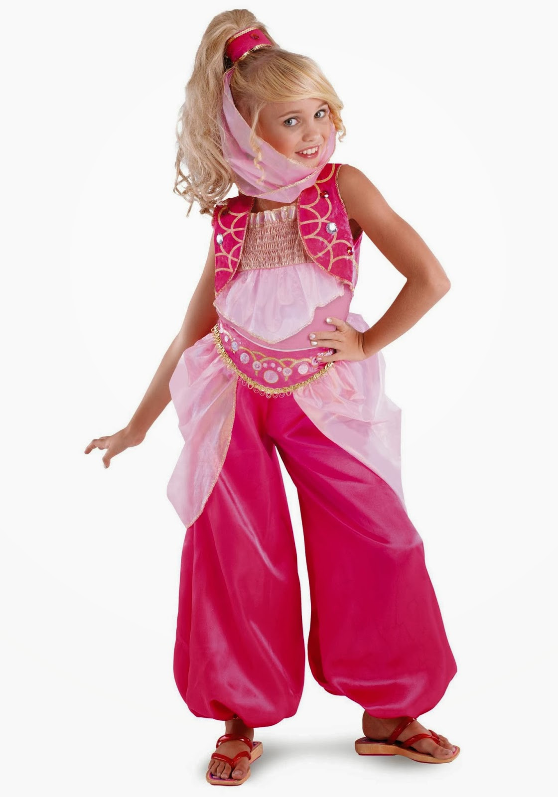 Genie Costume DIY  Cute Scrap Layout By Evelyn Regly