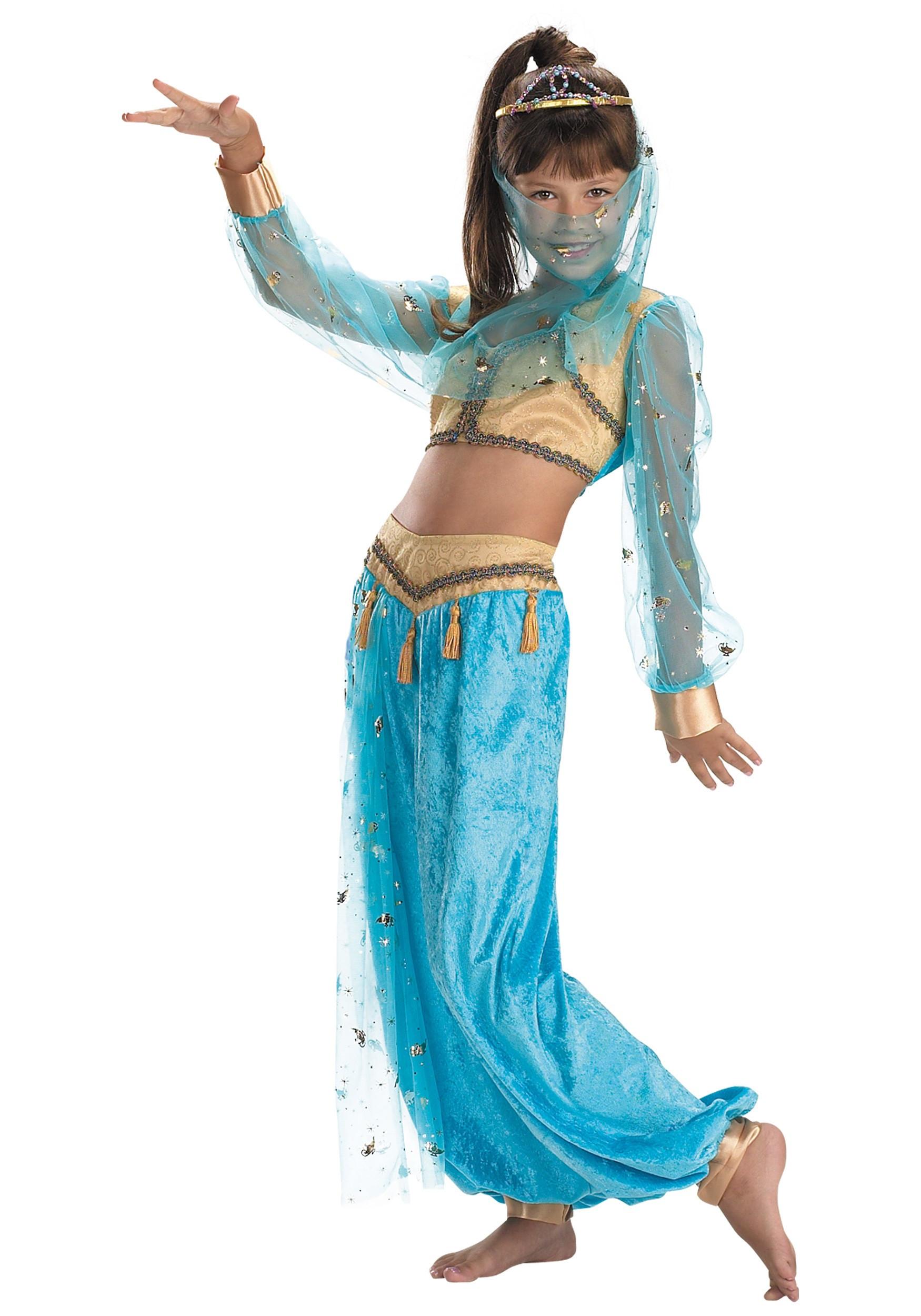 Genie Costume DIY  Child Mystical Genie Costume