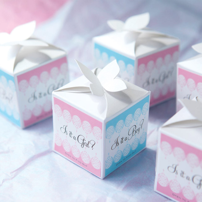 Gift Ideas For Baby Reveal Party  Baby Gender Reveal Gifts Party Inspiration