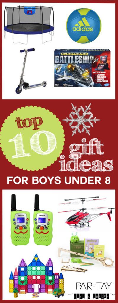 Gift Ideas For Boys 10  Top 10 Gift Ideas for Boys Under 8 Party Like a Cherry