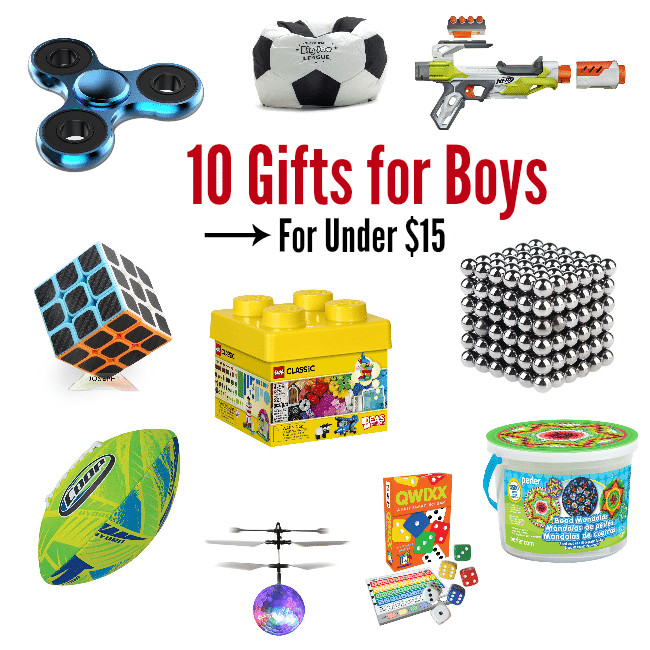 Gift Ideas For Boys 10  10 Gifts for Girls for Under $15 – Fun Squared