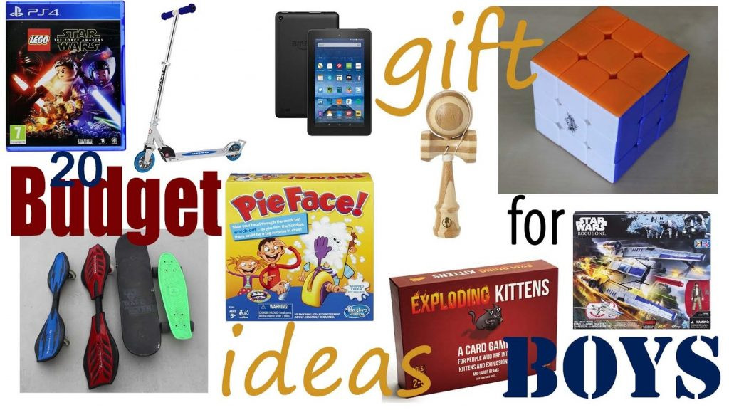 Gift Ideas For Boys 10  20 Bud Christmas Gift Ideas For Boys From $10 to Under