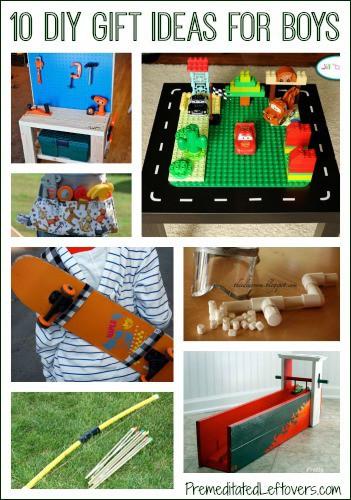 Gift Ideas For Boys 10  10 DIY Christmas Gift Ideas for Boys