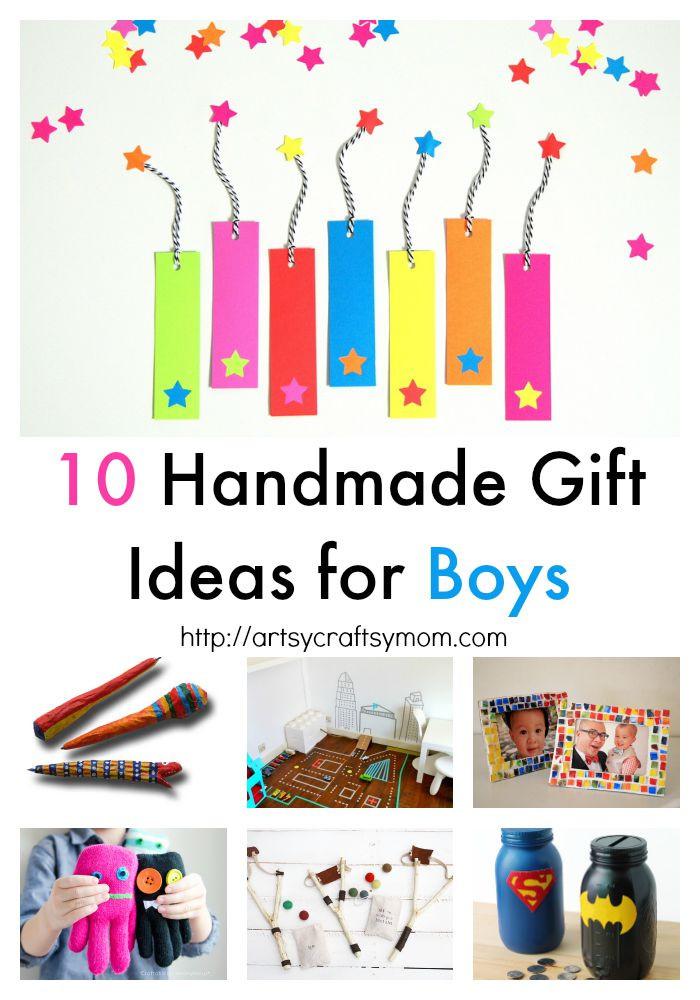 Gift Ideas For Boys 10  10 Handmade Gift Ideas for Boys Artsy Craftsy Mom