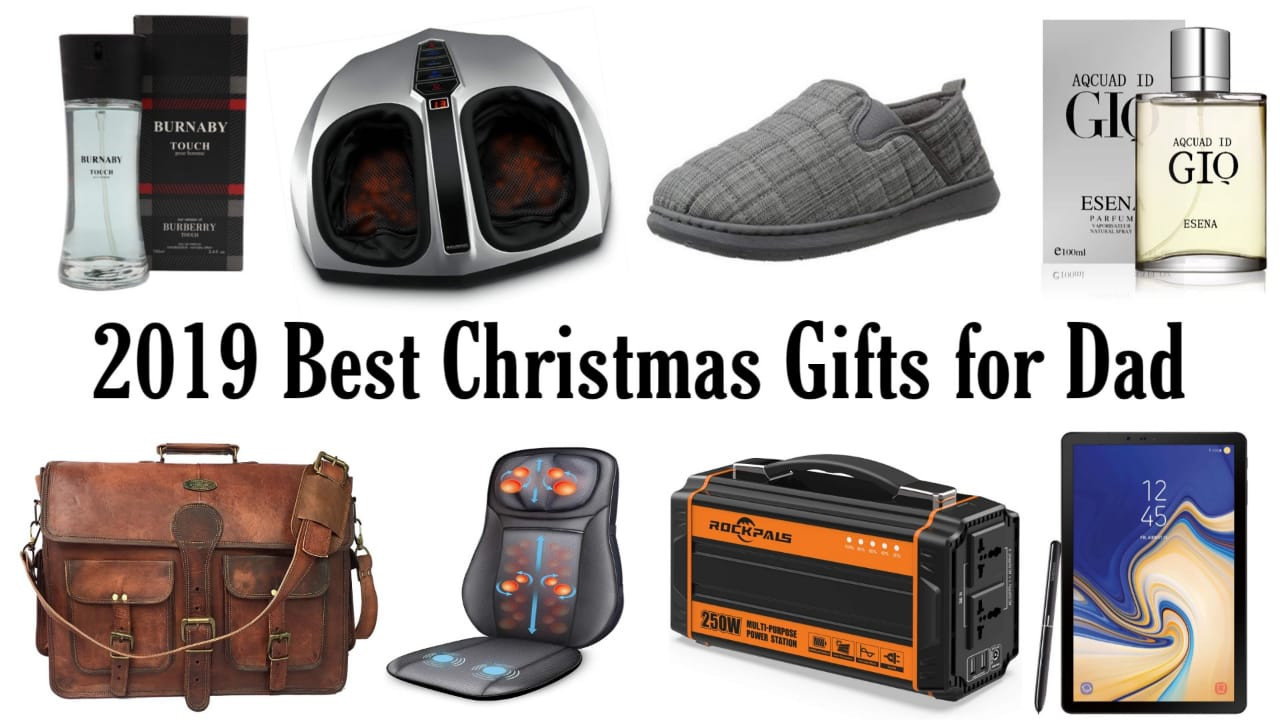 Gift Ideas For Christmas 2019  Best Christmas Gifts for Father 2019