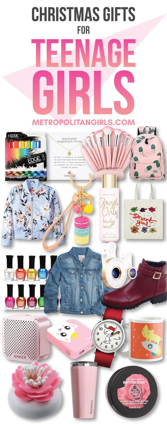 Gift Ideas For Christmas 2019  20 Christmas Gift Ideas For Teen Girls Wish