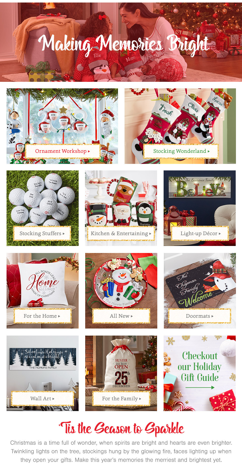 Gift Ideas For Christmas 2019  2019 Personalized Christmas Gifts