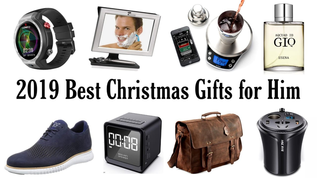 Gift Ideas For Christmas 2019  Best Christmas Gifts for Him 2019