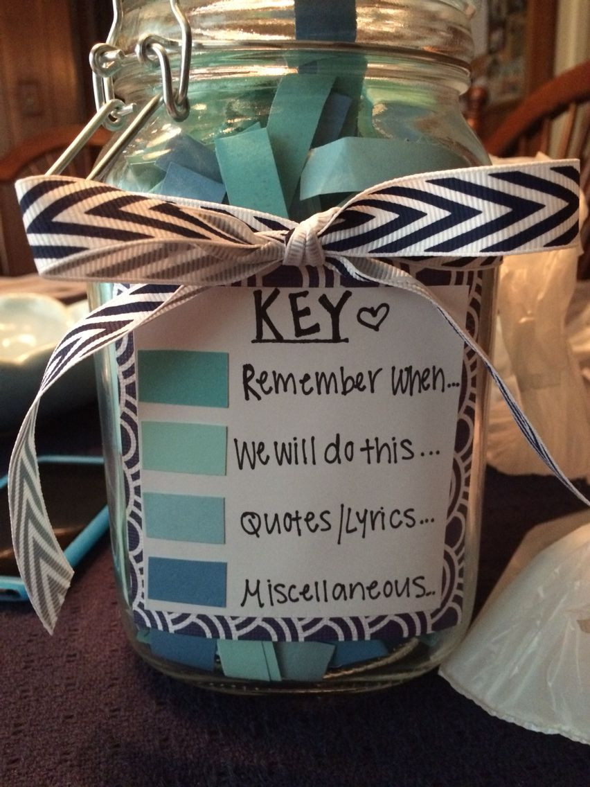 Gift Ideas For Couple Friends  365 Note Jar … Good Present for Boyfriend