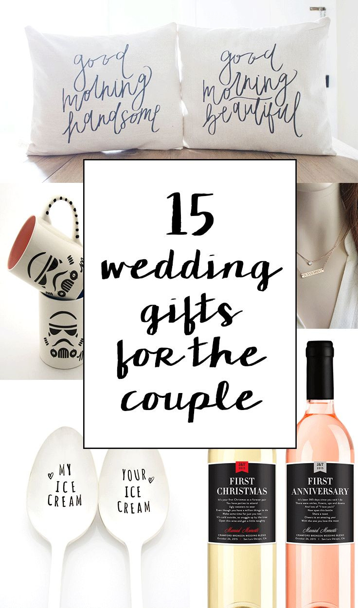 Gift Ideas For Couple Friends  15 Sentimental Wedding Gifts for the Couple