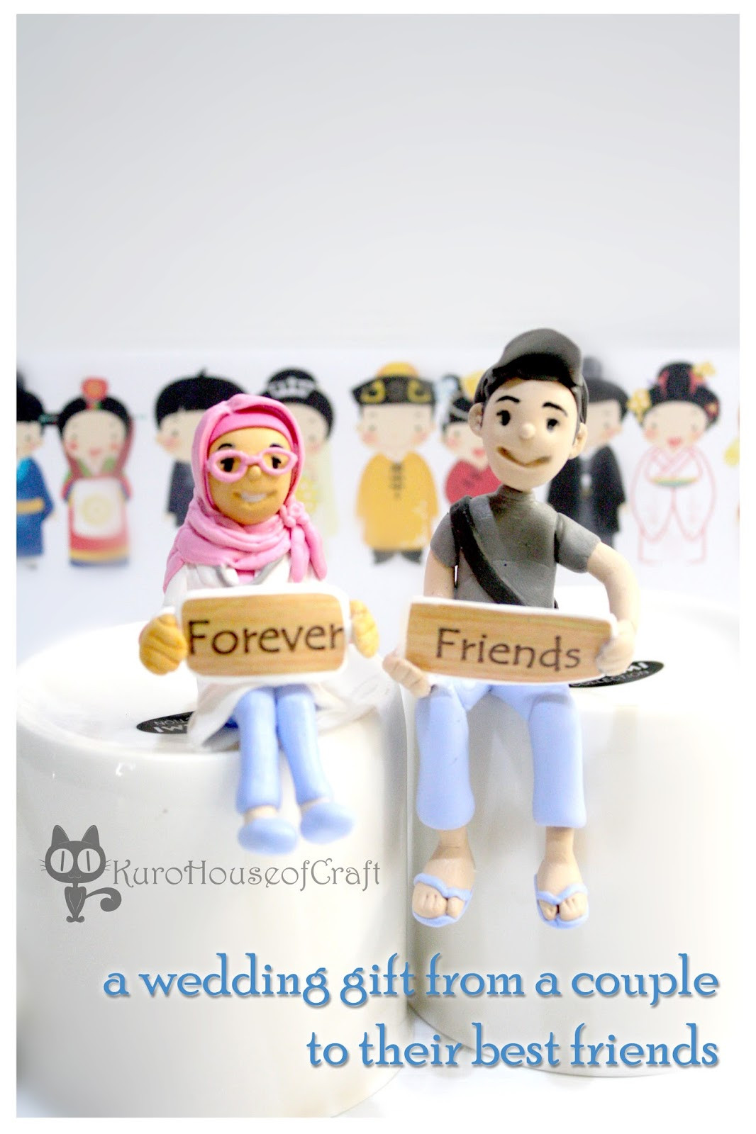"Gift Ideas For Couple Friends  KuroHouse of Craft Wedding Gift ""from Couple to their"