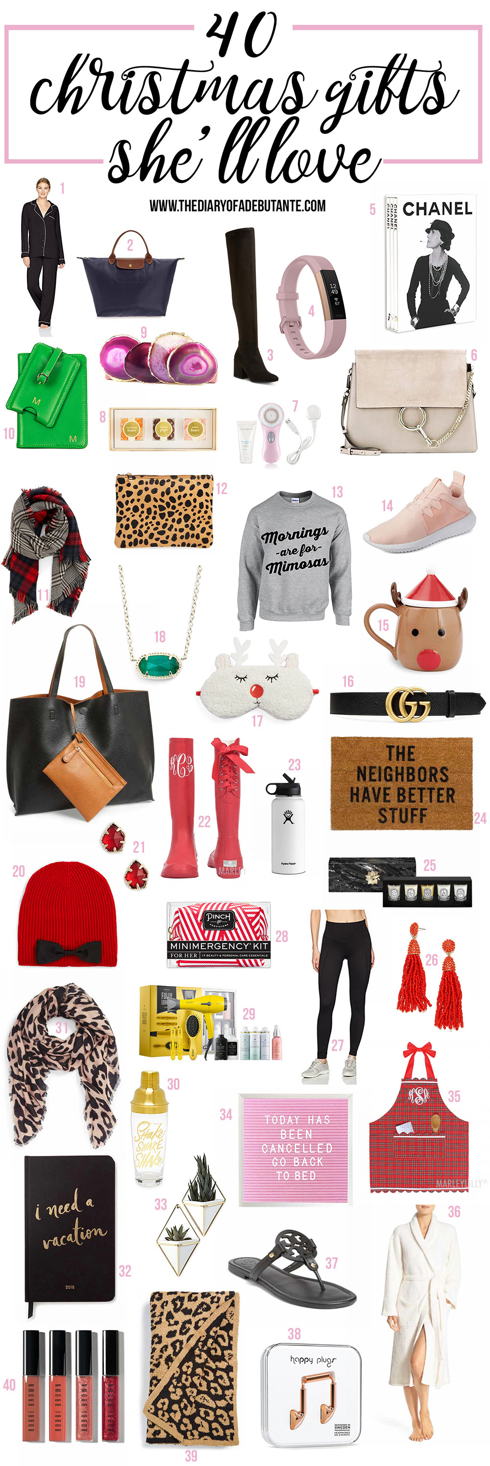 Gift Ideas For Girlfriend Christmas  Cool Gift Ideas for Girlfriend Mom or BFF this Holiday