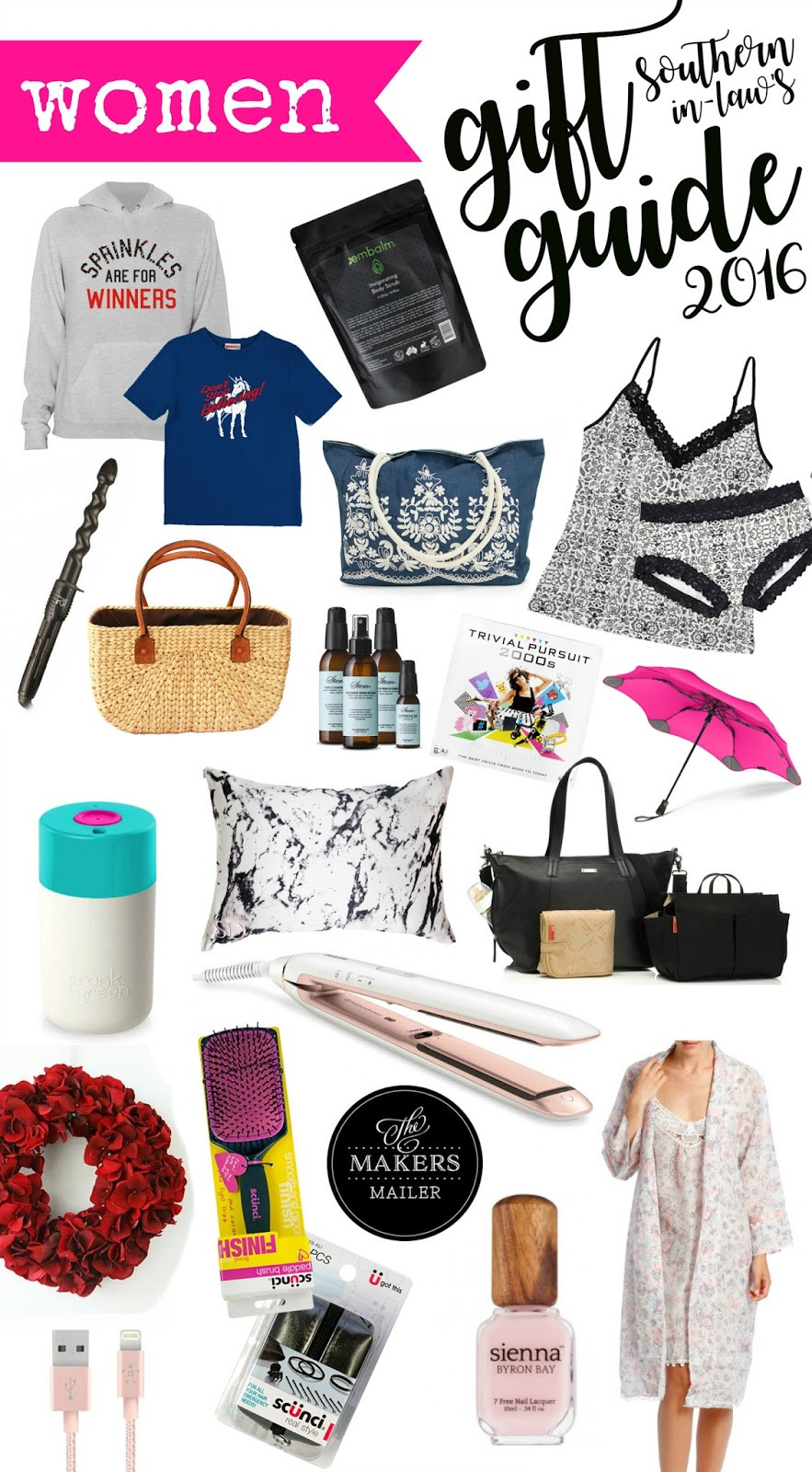 Gift Ideas For Girlfriend Christmas  Southern In Law 2016 Women s Christmas Gift Guide