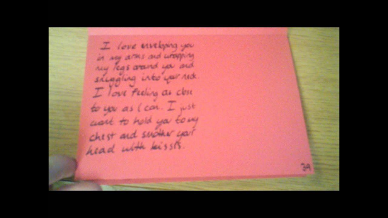 Gift Ideas For Girlfriend Reddit  Long Distance Gift Idea Encouragement Calendar