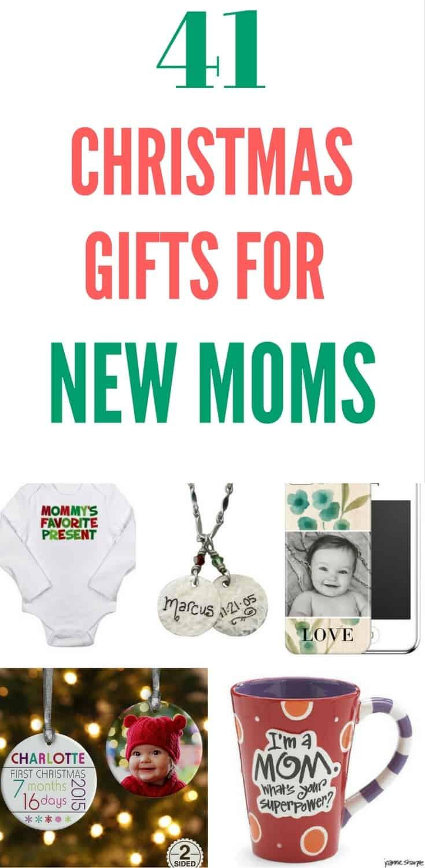 Gift Ideas For Mom Christmas  Christmas Gifts for New Moms Top 20 Christmas Gift Ideas