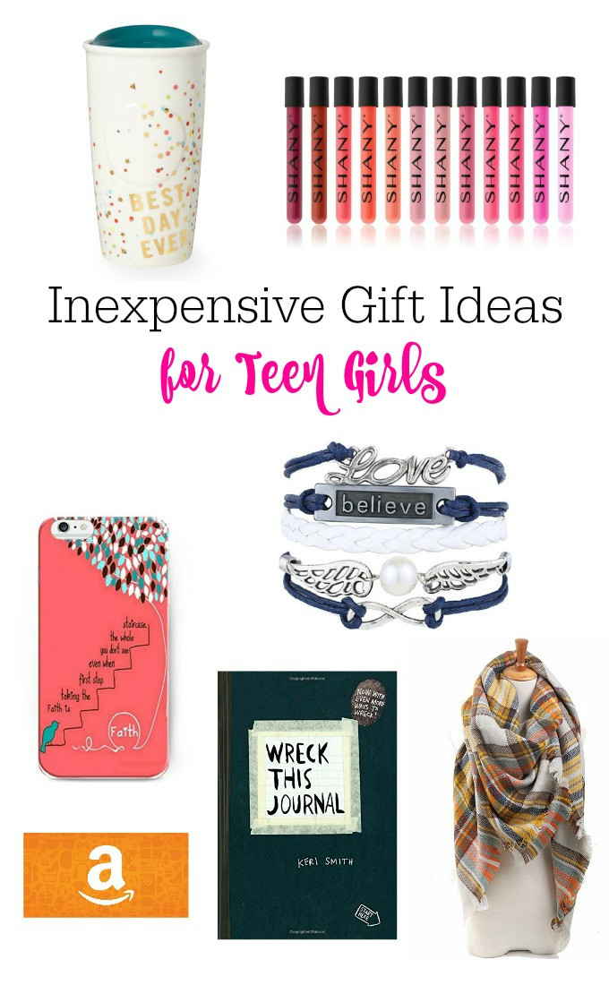 Gift Ideas For Teen Girls  Inexpensive Gift Ideas For Teen Girls