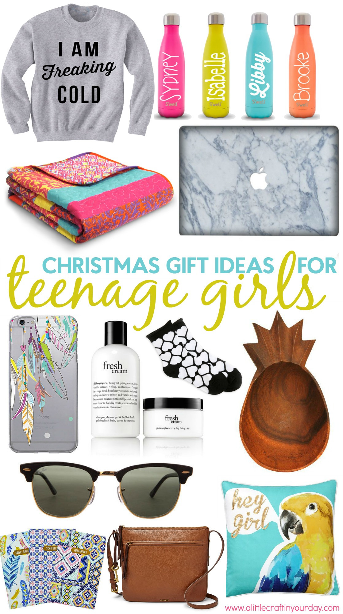 Gift Ideas For Teen Girls  Christmas Gift Ideas for Teen Girls A Little Craft In
