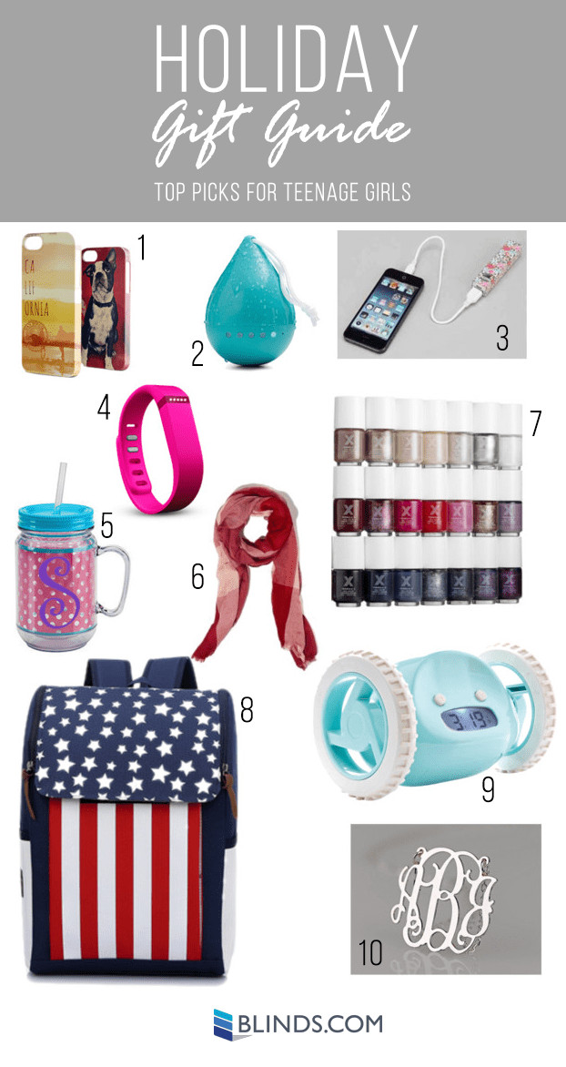 Gift Ideas For Teen Girls  Holiday Gift Guides Gift Ideas for Teenagers The