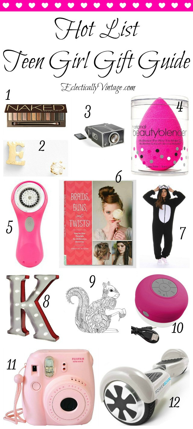 Gift Ideas For Teen Girls  Hot List Teenage Girl Gift Guide