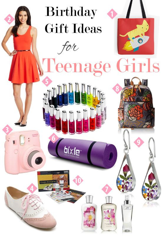 Gift Ideas For Teen Girls  Birthday Gift Guide for Teen Girls