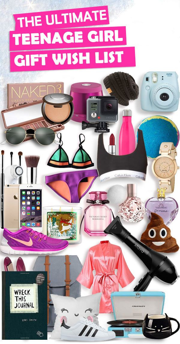 Gift Ideas For Teen Girls  Christmas Gifts for Teenage Girls List [New for 2019