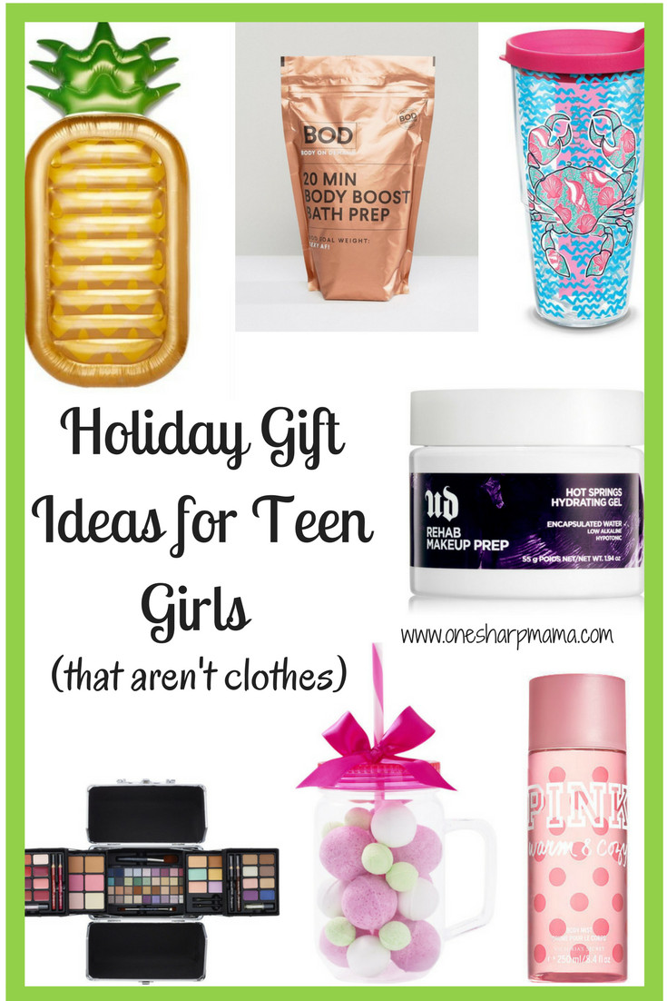Gift Ideas For Teen Girls  Teen Girl Holiday Gift Ideas 2017 e Sharp Mama