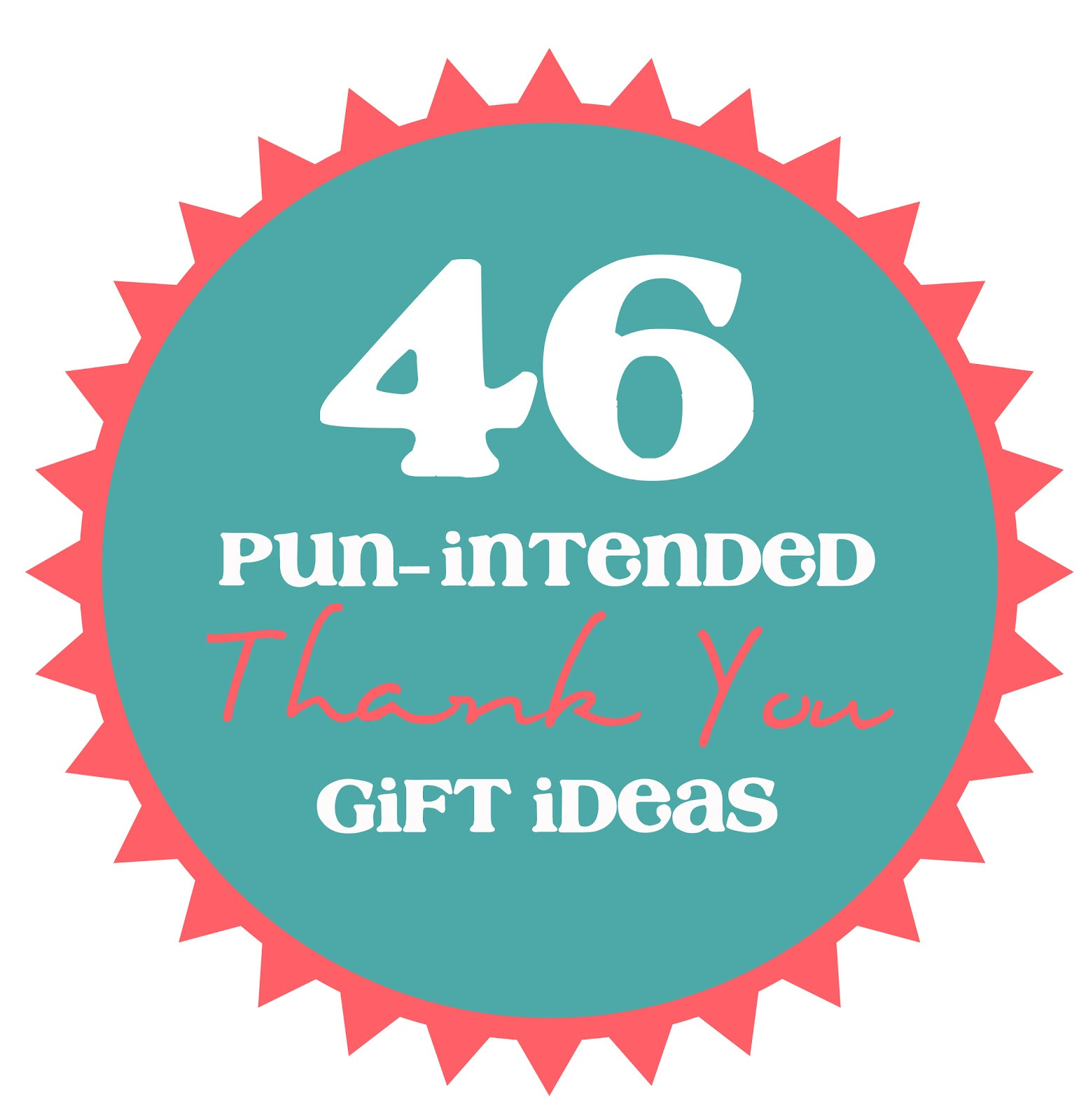 Gift Ideas To Say Thank You  46 Pun Intended Thank You Gift Ideas thecraftpatchblog