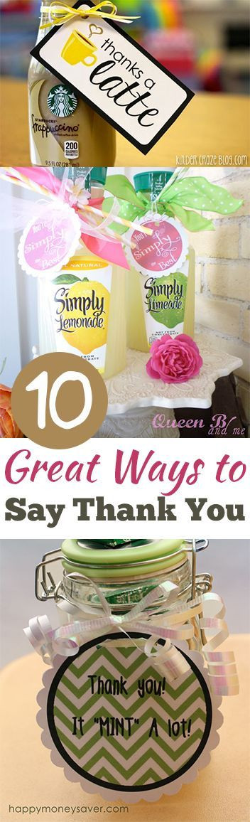 Gift Ideas To Say Thank You  Small t ideas to say thank you how to find true lover