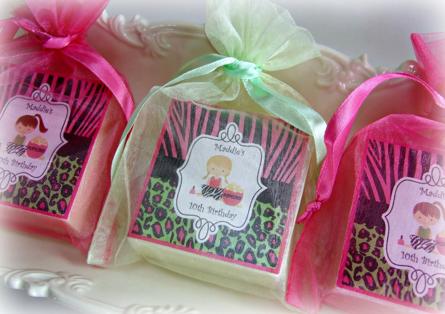 Girls Birthday Party Favors  Spa Party Favor Birthday Party Favor Girl Party by AbbeyJames