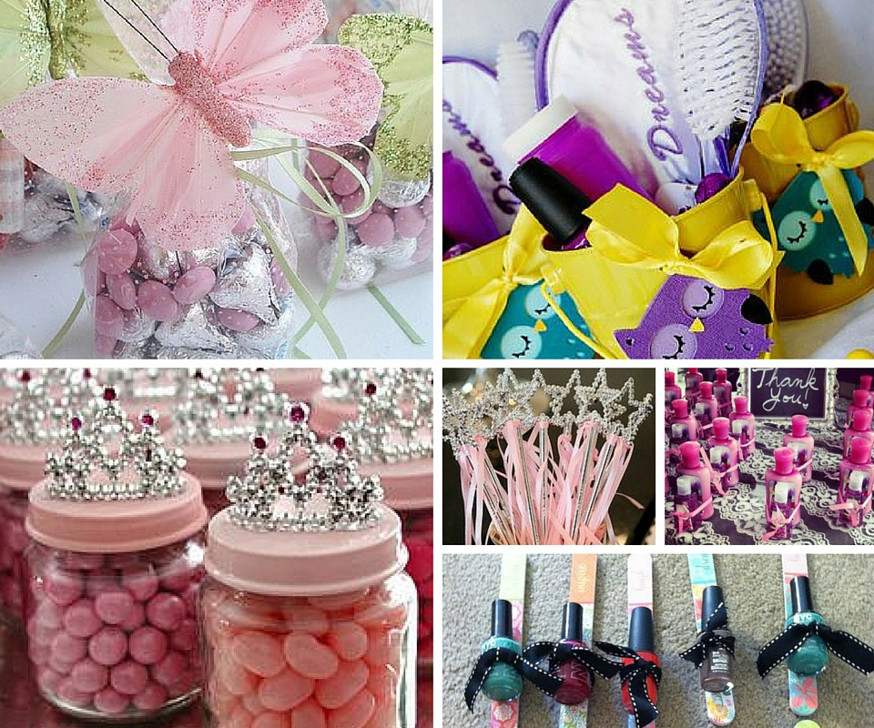 Girls Birthday Party Favors  Party Games for Girls