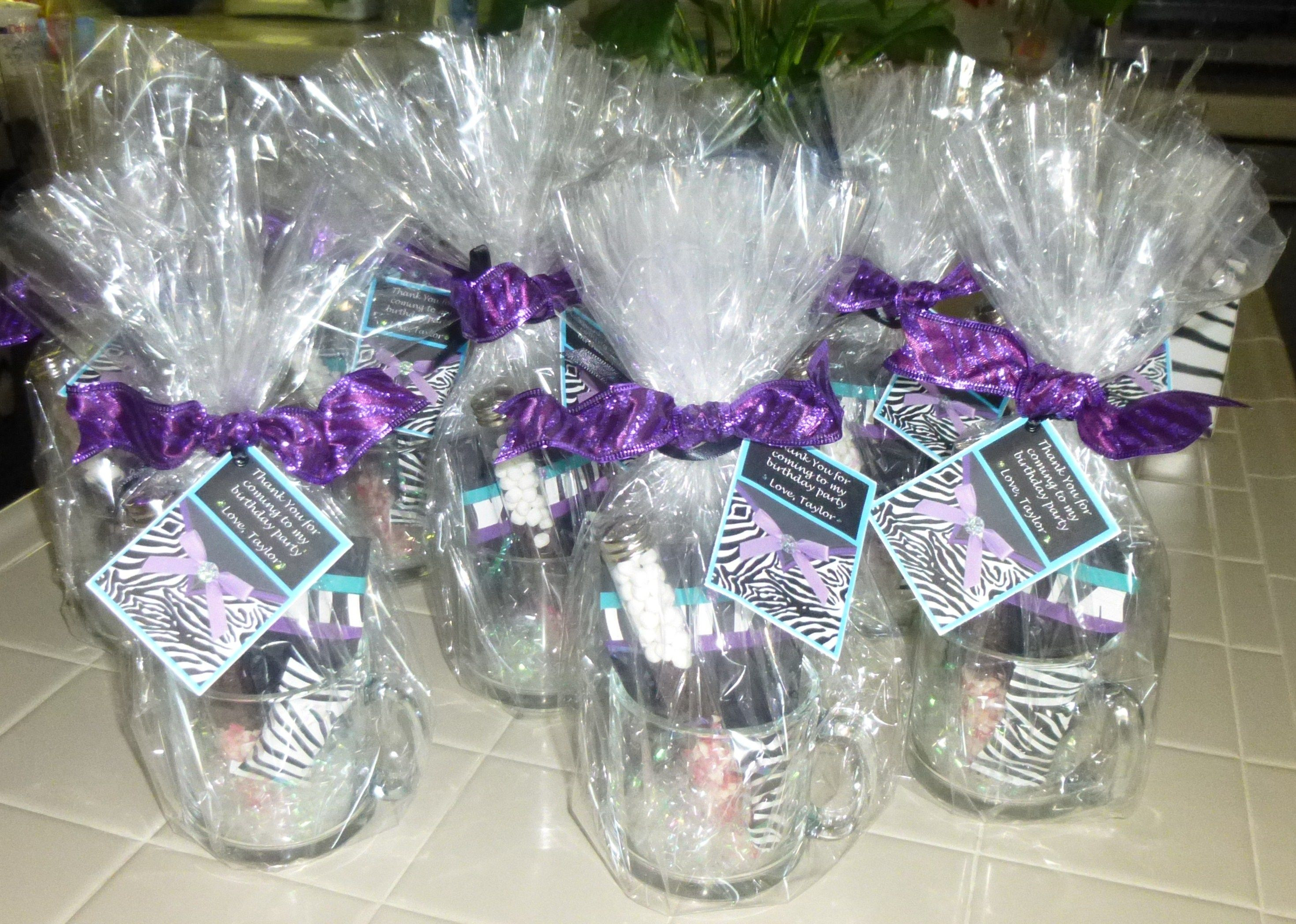Girls Birthday Party Favors  Party Favors for 12 year old girls
