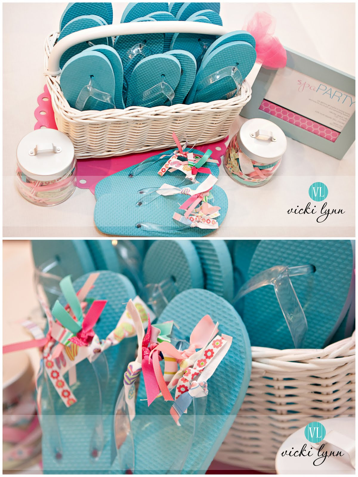 Girls Birthday Party Favors  Real Parties Sophie s Fabulous Spa Birthday Party