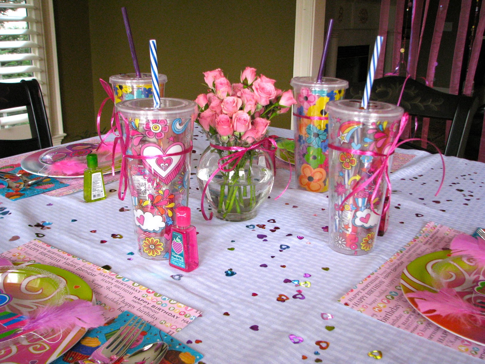 Girls Birthday Party Favors  HomeMadeville Your Place for HomeMade Inspiration Girl s