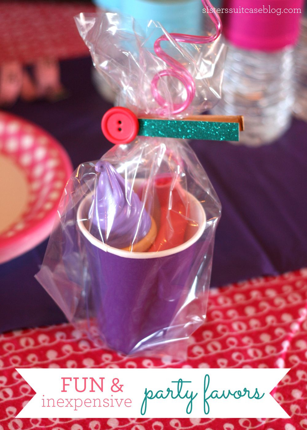 Girls Birthday Party Favors  Kid Party Favors on Pinterest