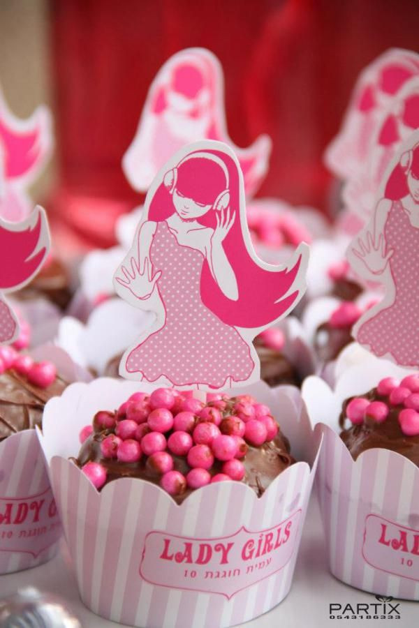 Girls Birthday Party Favors  Pink Girl Tween 10th Birthday Party Planning Ideas