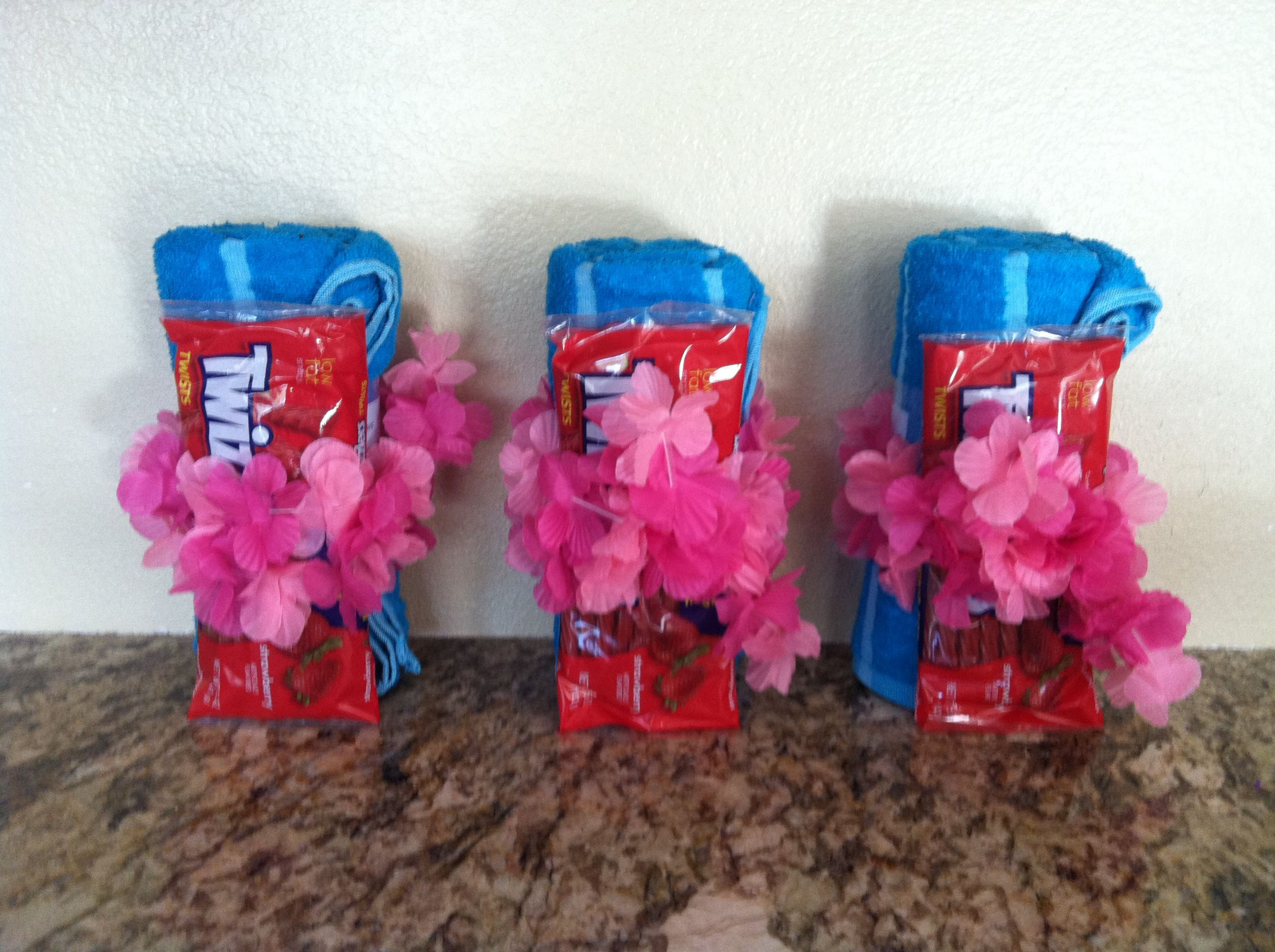 Girls Birthday Party Favors  Party favors for teen girls summer swim birthday party