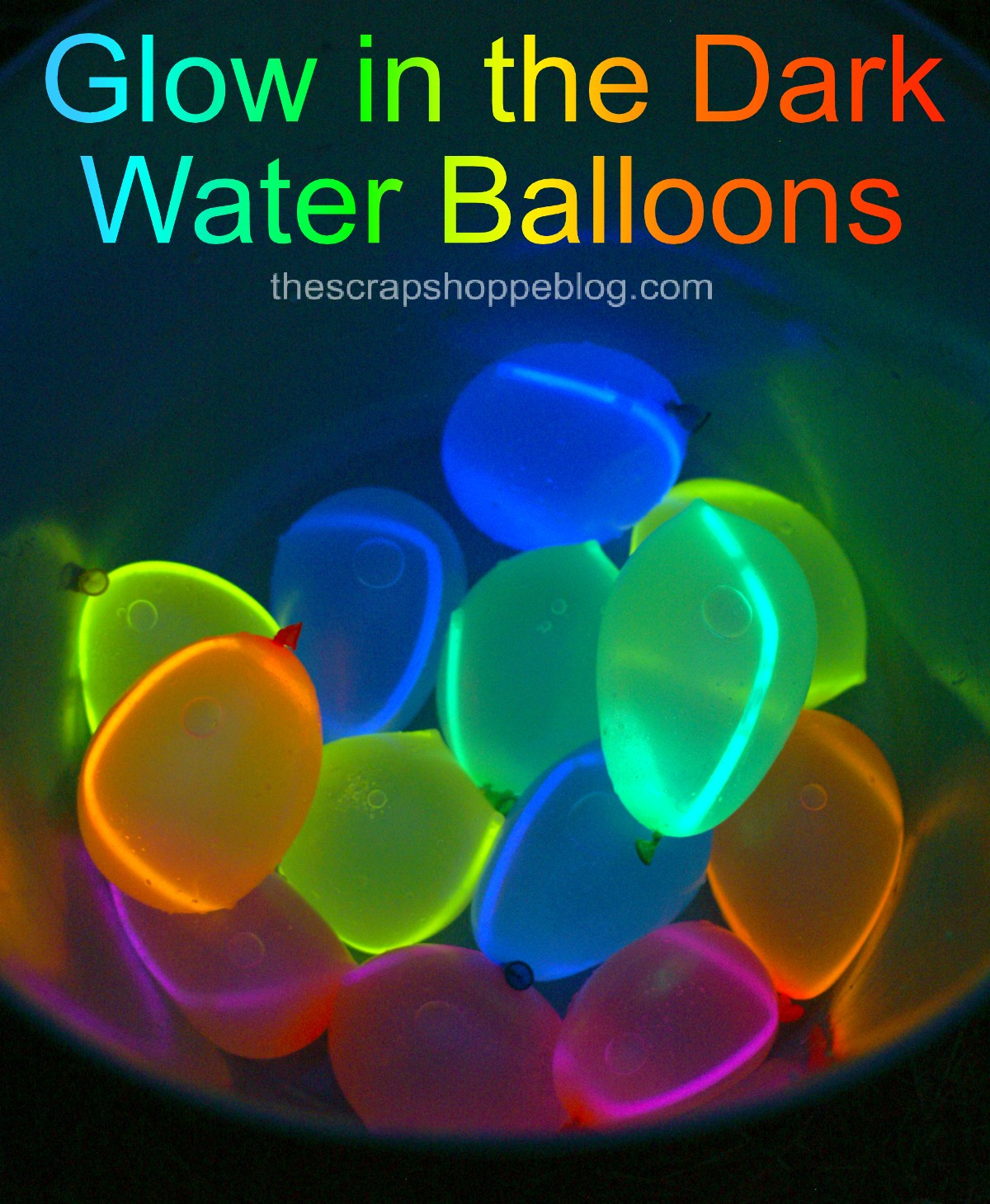 Glow Pool Party Ideas  Balloon Hacks