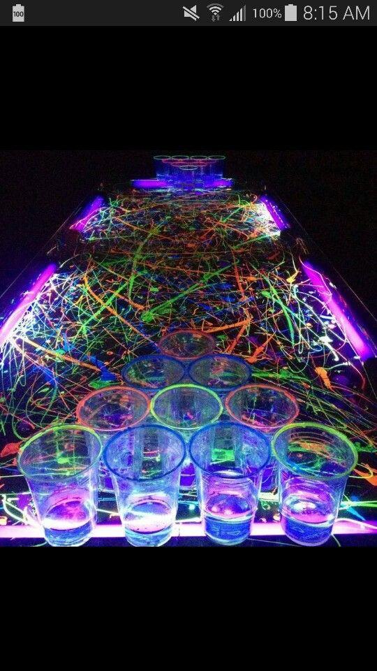 Glow Pool Party Ideas  Best 25 Glow pool parties ideas on Pinterest