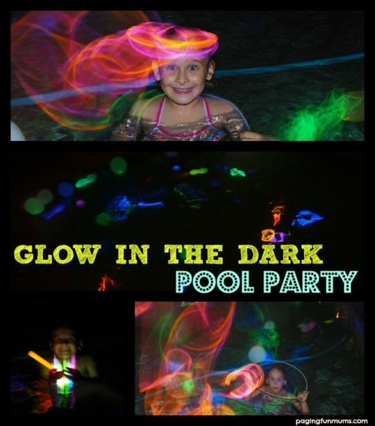 Glow Pool Party Ideas  18 of the Best Swimming Pool Games Paging Fun Mums